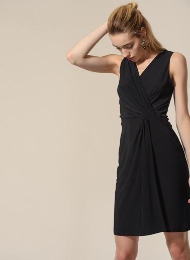 Agenda Kolsuz Elbise Siyah